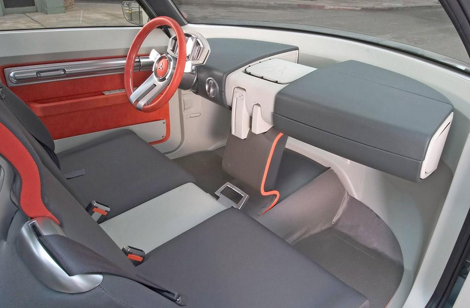 2004 Mitsubishi Sport Truck Concept Interior