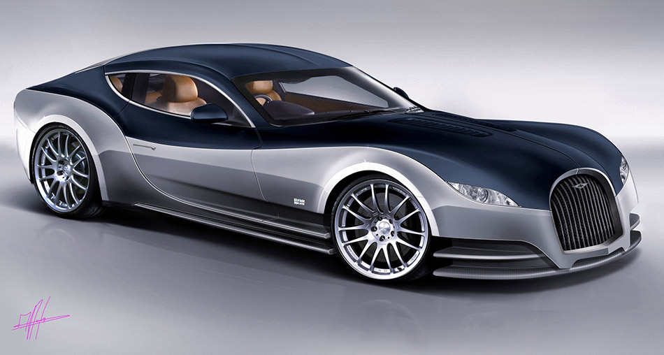 2010 Morgan EvaGT Concept Front Angle