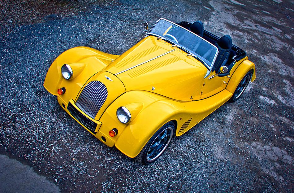 2012 Morgan Plus E Front Angle