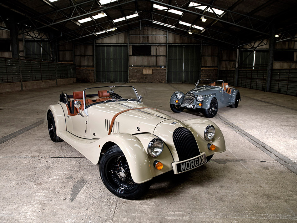 2011 Morgan Roadster Sport Front Angle
