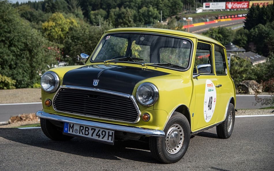 1974 Mr Bean Mini Mark 3 Front Angle