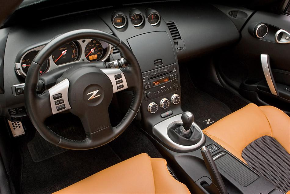 2009 Nissan 350Z Roadster Interior