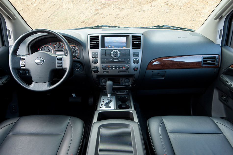 2012 Nissan Armada Interior