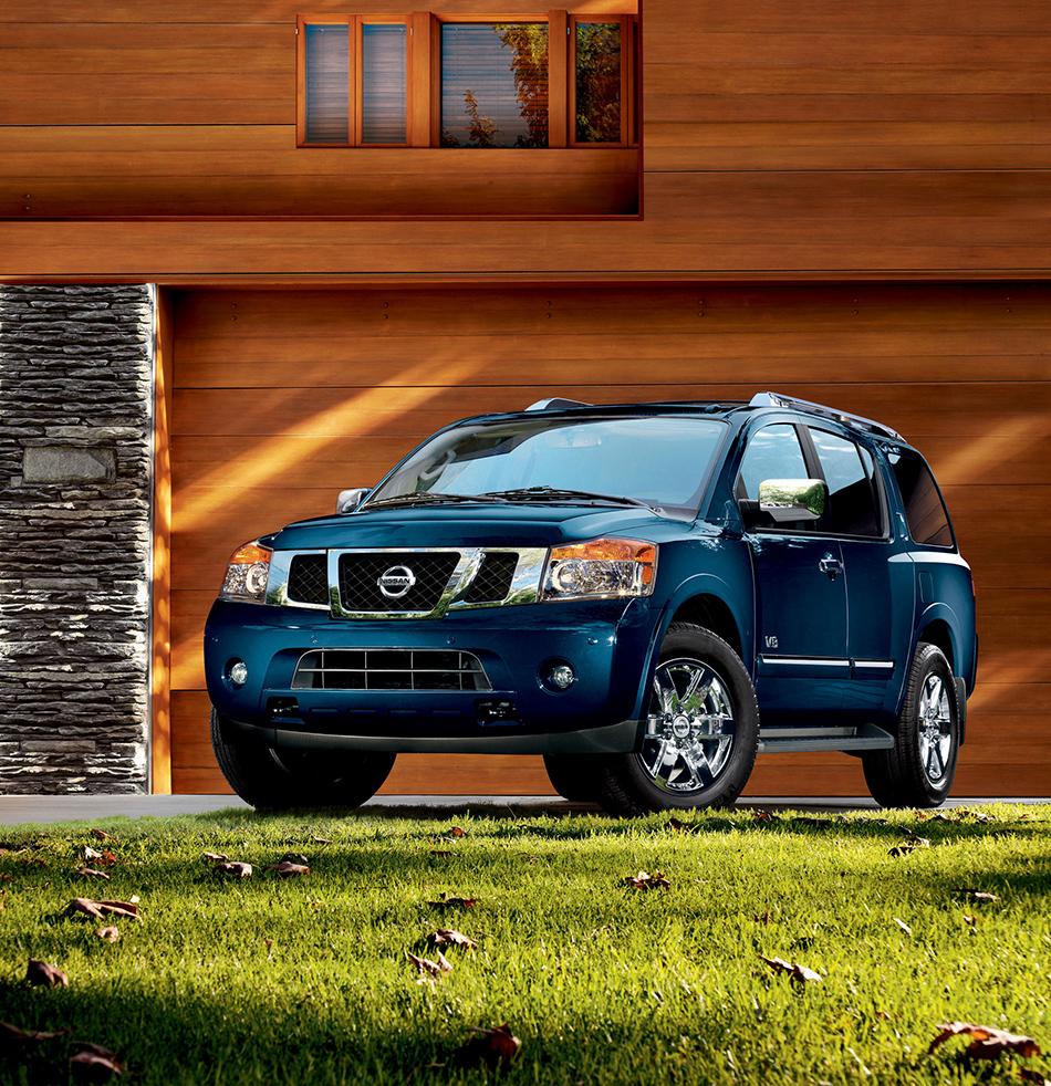 2012 Nissan Armada Front Angle