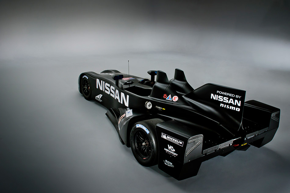 2013 Nissan DeltaWing Rear Angle