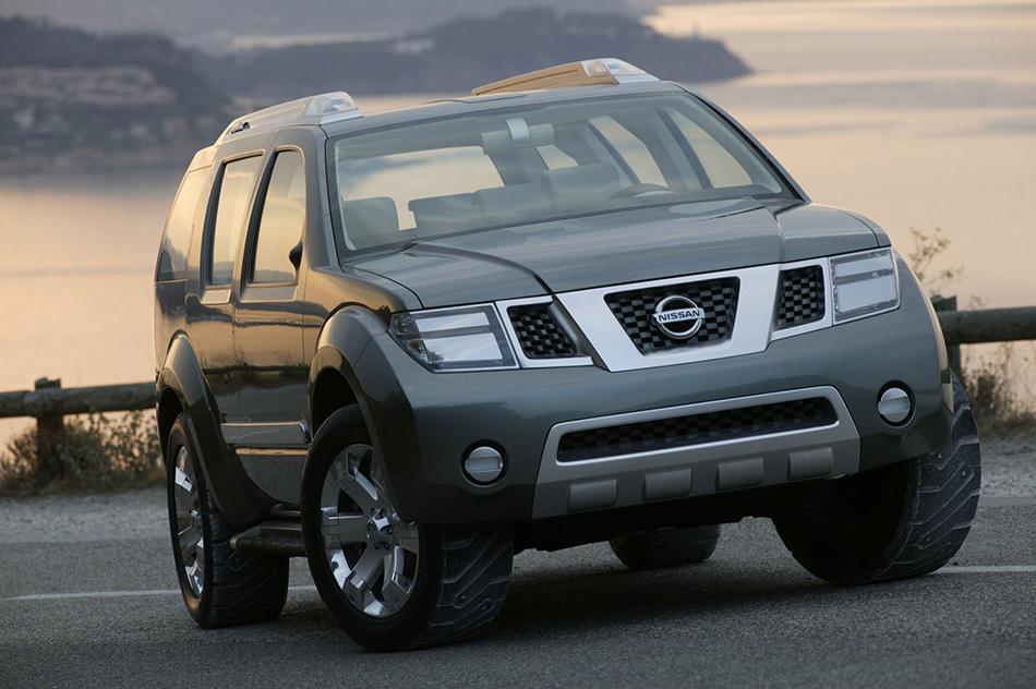 2003 Nissan Dunehawk Concept Front Angle