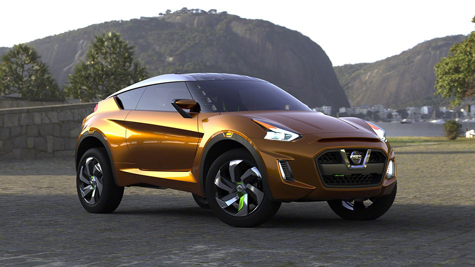 2012 Nissan Extrem Concept Front Angle