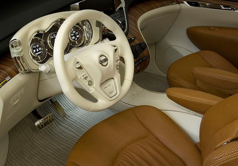 2008 Nissan Forum Concept Interior