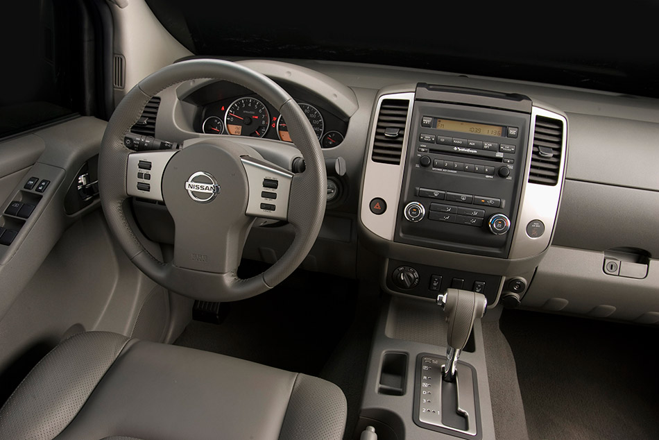 2009 Nissan Frontier Interior2009 Nissan Frontier Interior