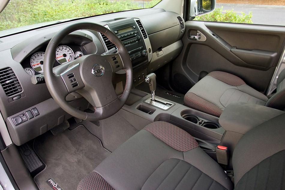 2011 Nissan Frontier Interior