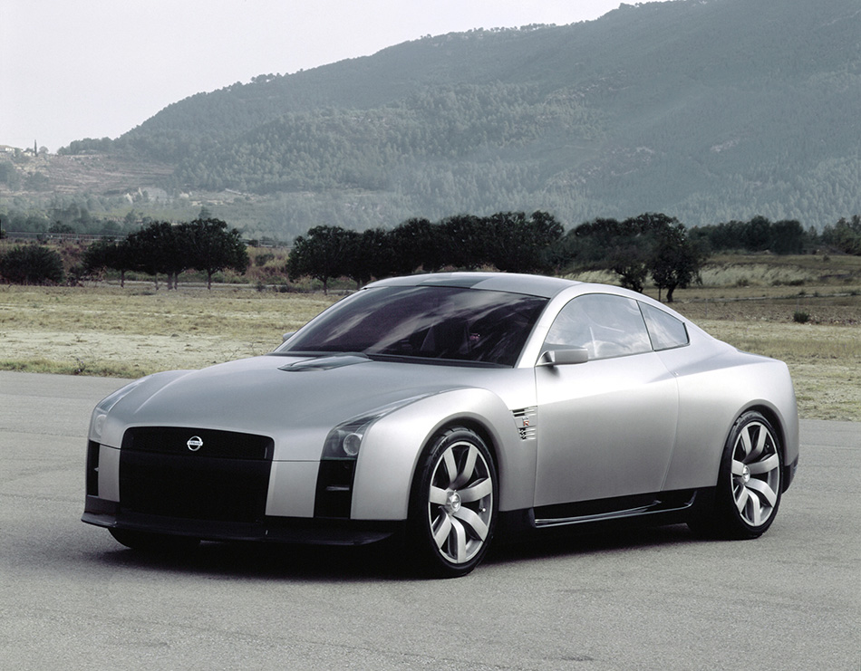 2008 Nissan GT-R Concept Front Angle