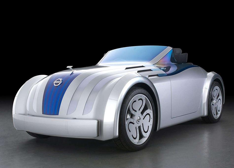 2003 Nissan Jikoo Concept Front Angle