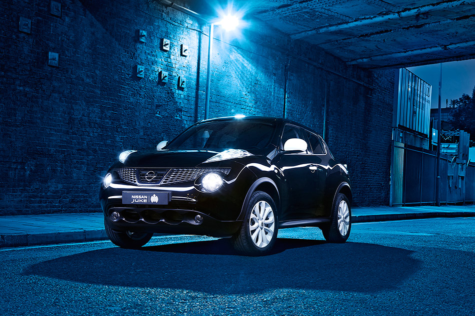 2012 Nissan Juke Ministry of Sound Limited Edition Front Angle