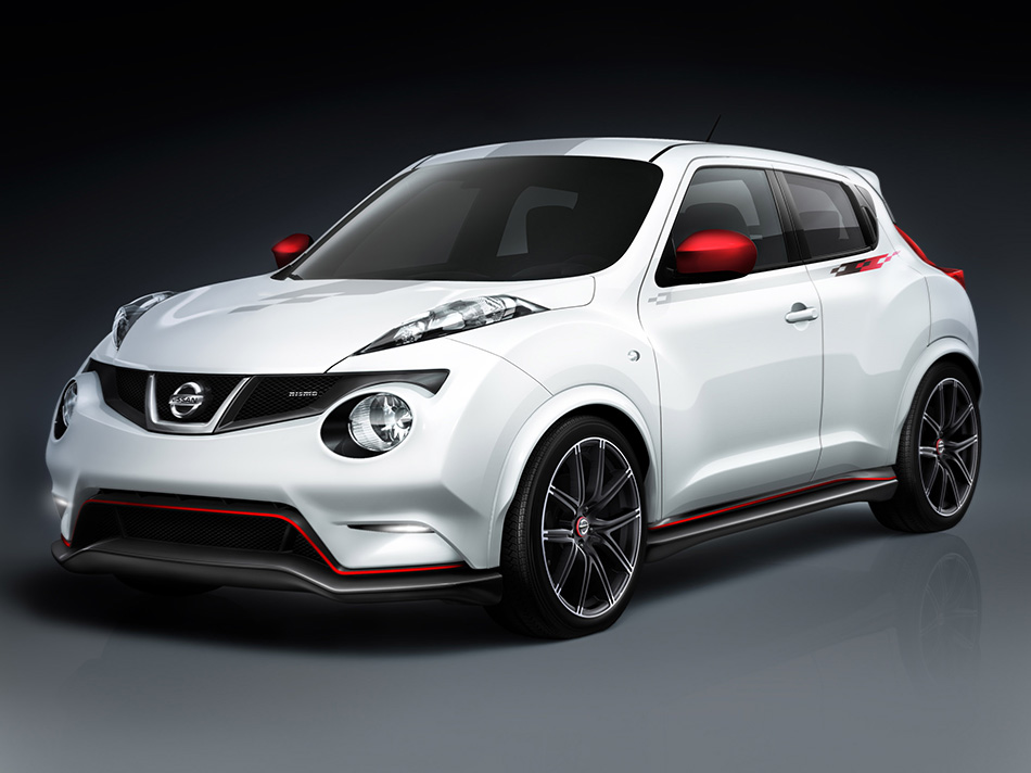 2013 Nissan Juke Nismo Concept Front Angle