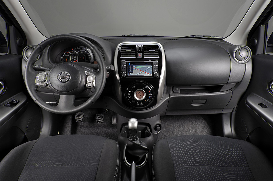 2013 Nissan Micra Interior