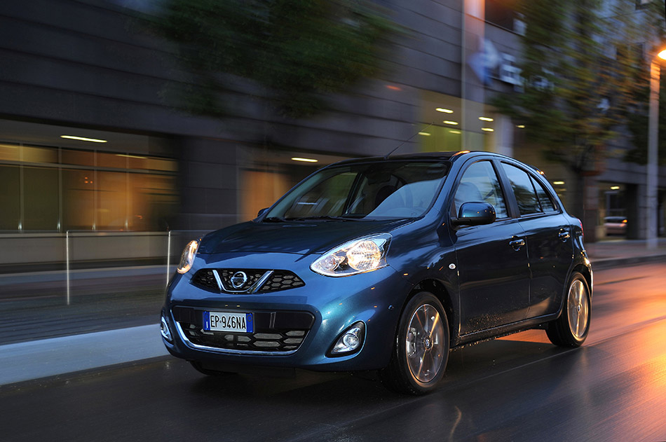 2013 Nissan Micra Front Angle