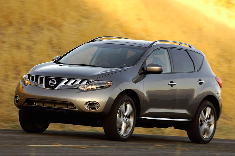 2009 Nissan Murano Front Angle