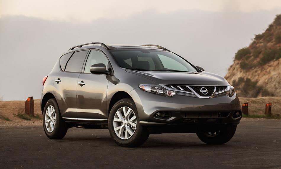 2014 Nissan Murano Front Angle