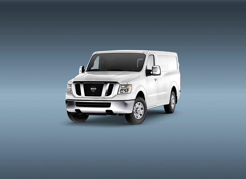 2012 Nissan NV Front Angle