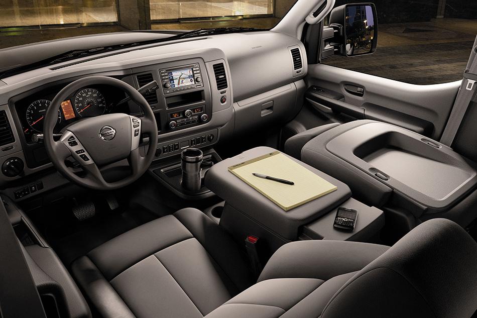 2012 Nissan NV Passenger Van Interior