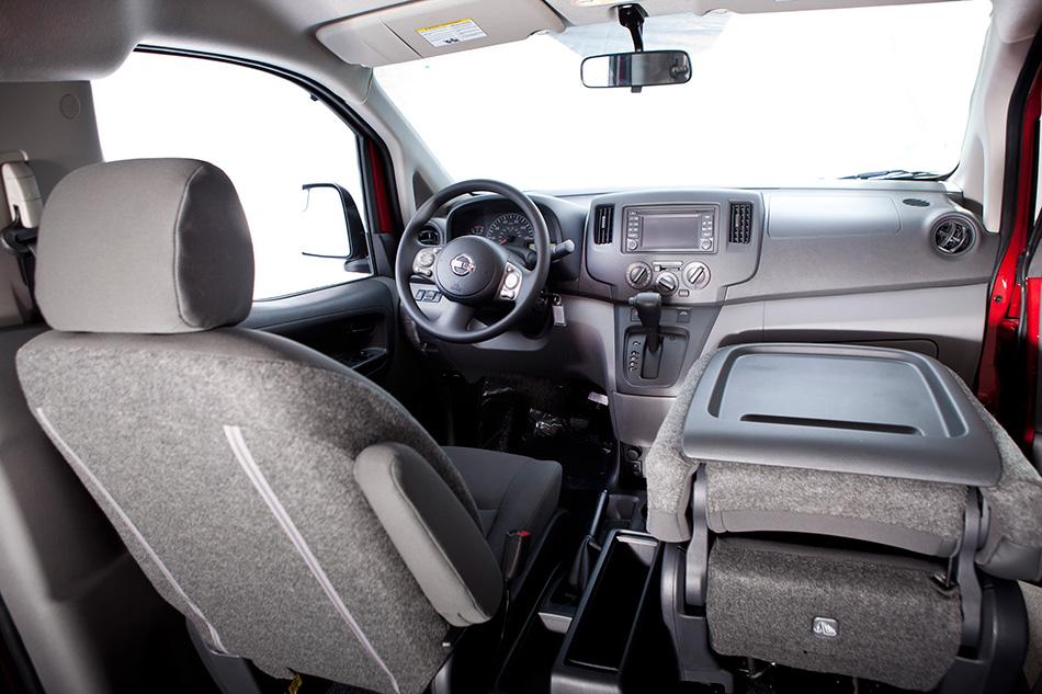 2013 Nissan NV200 Cargo Van Interior