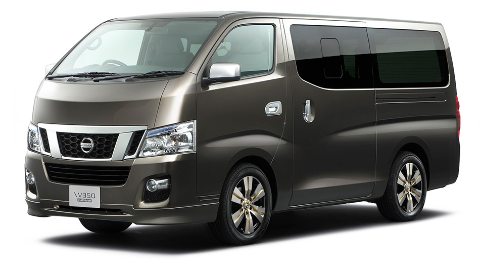 2011 Nissan NV350 Concept Front Angle