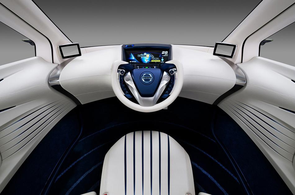 2012 Nissan PIVO 3 EV Concept Interior