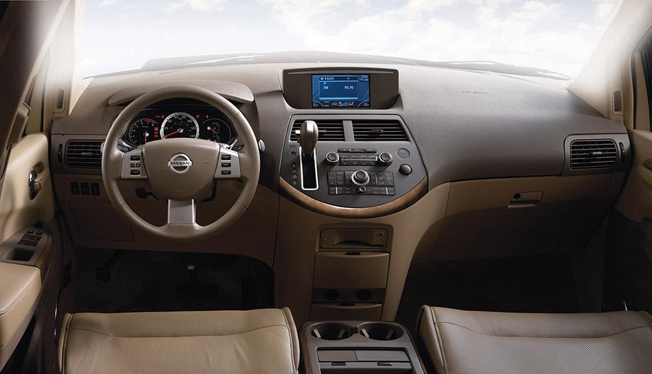 2008 Nissan Quest Interior
