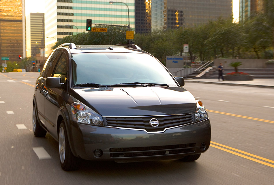 2008 Nissan Quest Front Angle