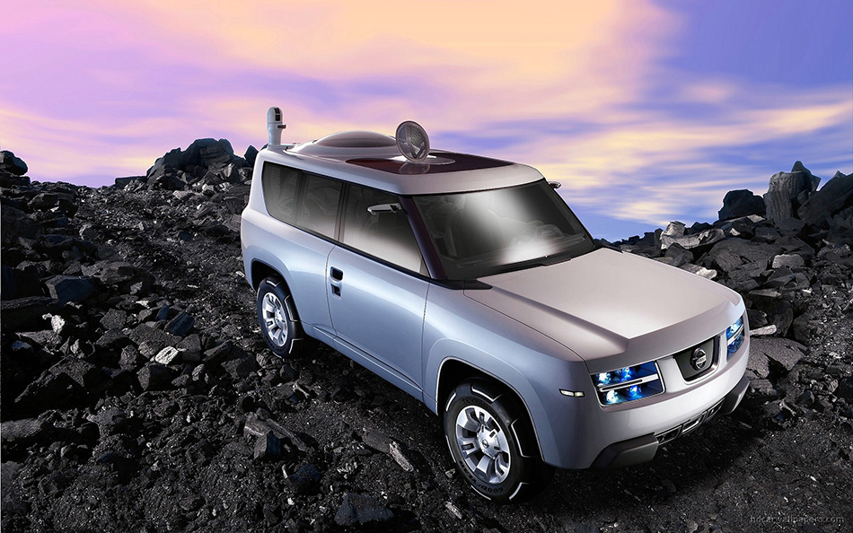 2006 Nissan Terranaut Concept Front Angle