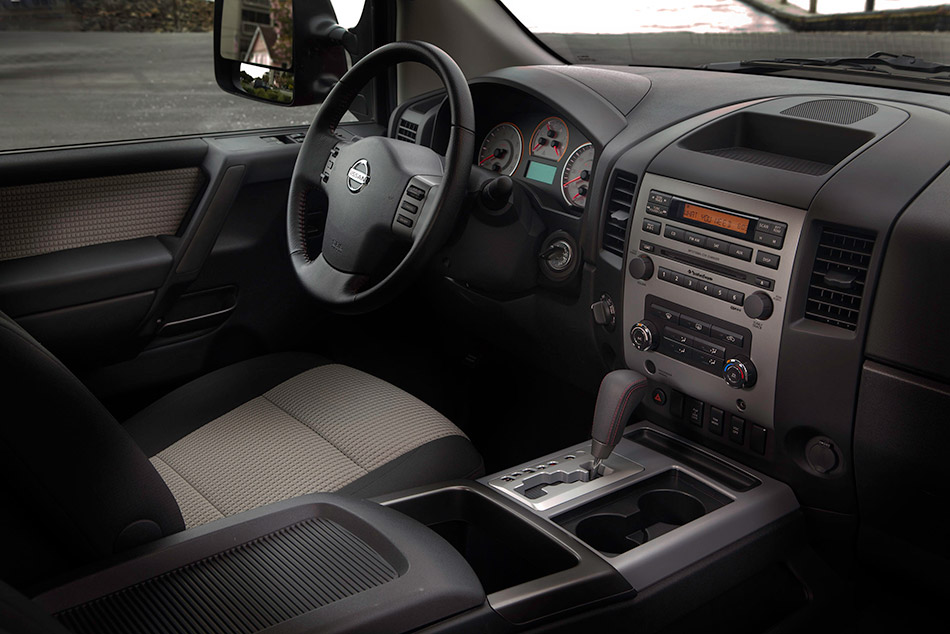 2011 Nissan Titan Interior