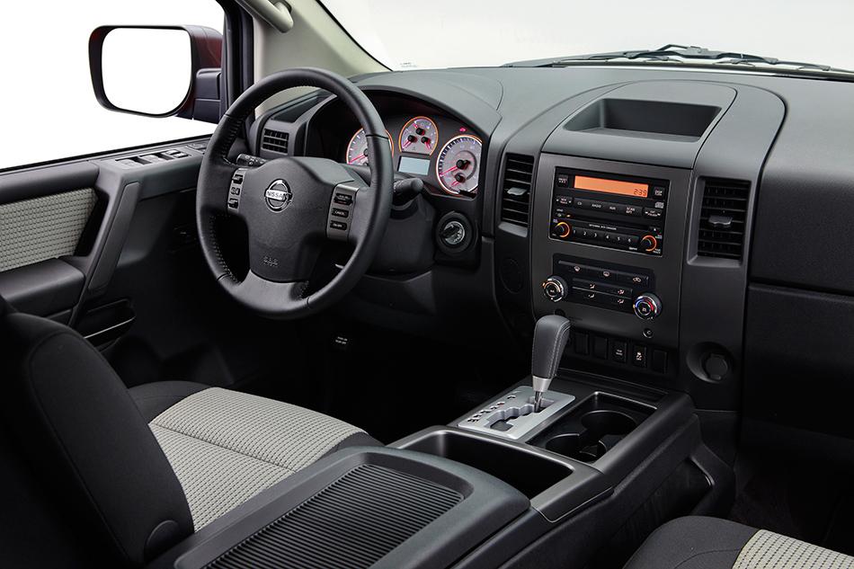 2012 Nissan Titan Crew Cab Interior