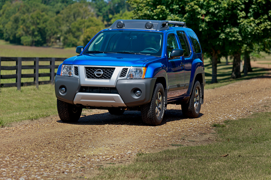 2012 Nissan Xterra Front Angle