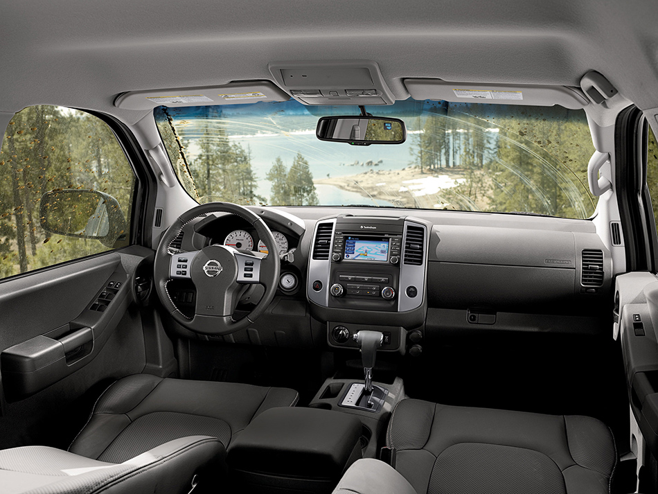 2013 Nissan Xterra Interior