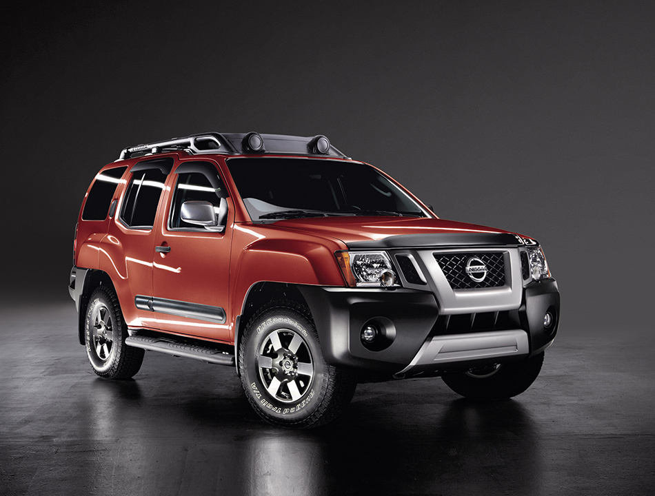 2013 Nissan Xterra Front Angle