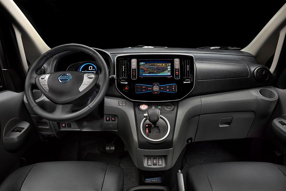 2014 Nissan e-NV200 Electric Barcelona Taxi Interior
