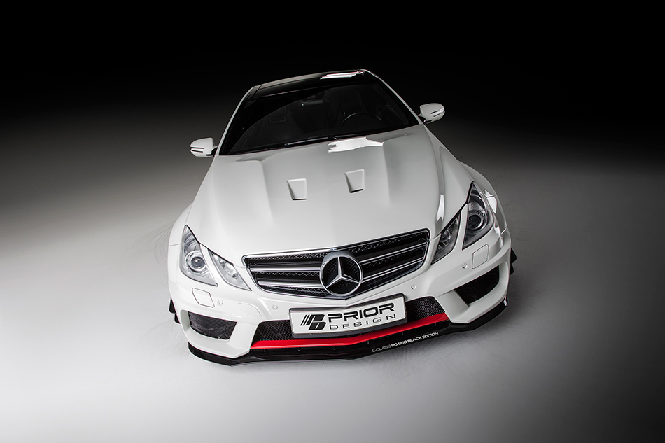 2013 Prior Design Mercedes-Benz E-class Coupe PD850 Black Edition WB Aerodynamic-Kit Front