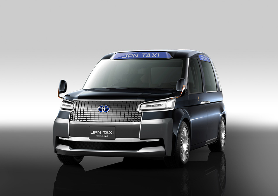 2013 Toyota JPN Taxi Concept Front Angle