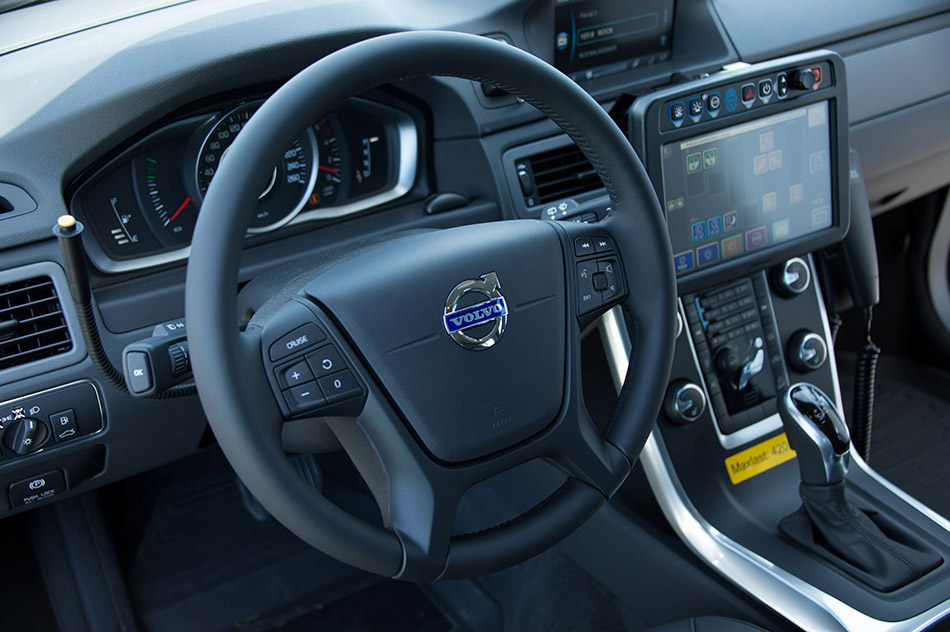 2014 Volvo XC70 D5 AWD Swedish Police Interior
