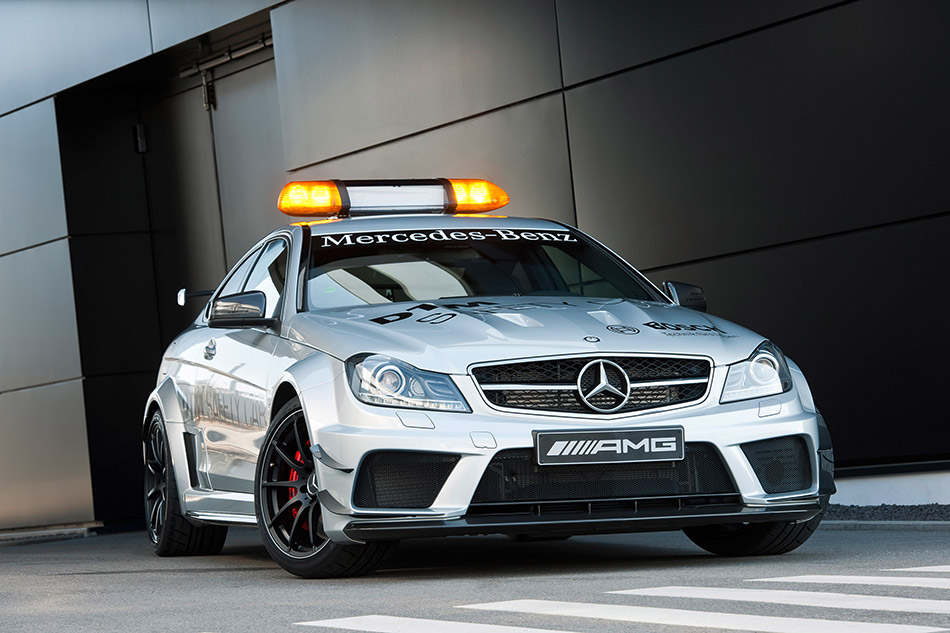 2012 Mercedes-Benz C63 AMG Coupe Black Series DTM Safety Car Front Angle