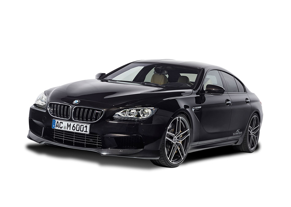2013 AC Schnitzer BMW M6 Gran Coupe Front Angle