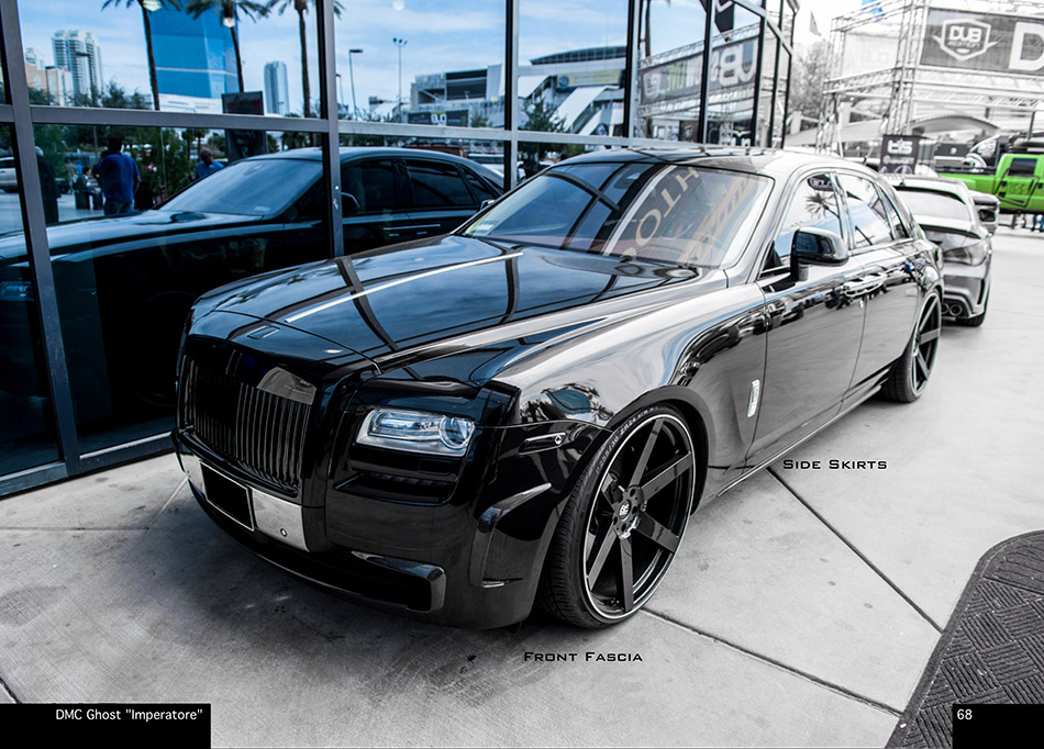 2013 DMC Rolls Royce Ghost IMPERATORE Front Angle