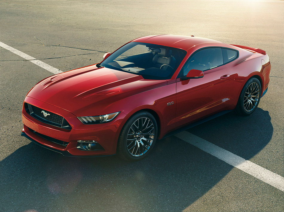2015 Ford Mustang Front Angle