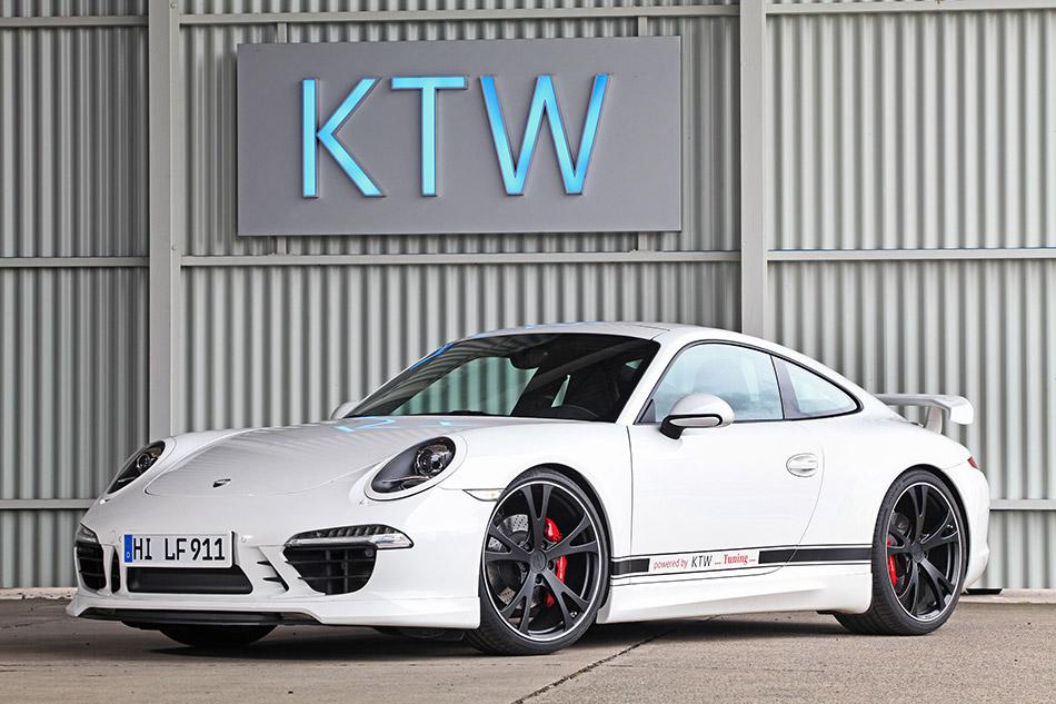 2013 KTW Porsche 911 Carrera S Type Front Angle