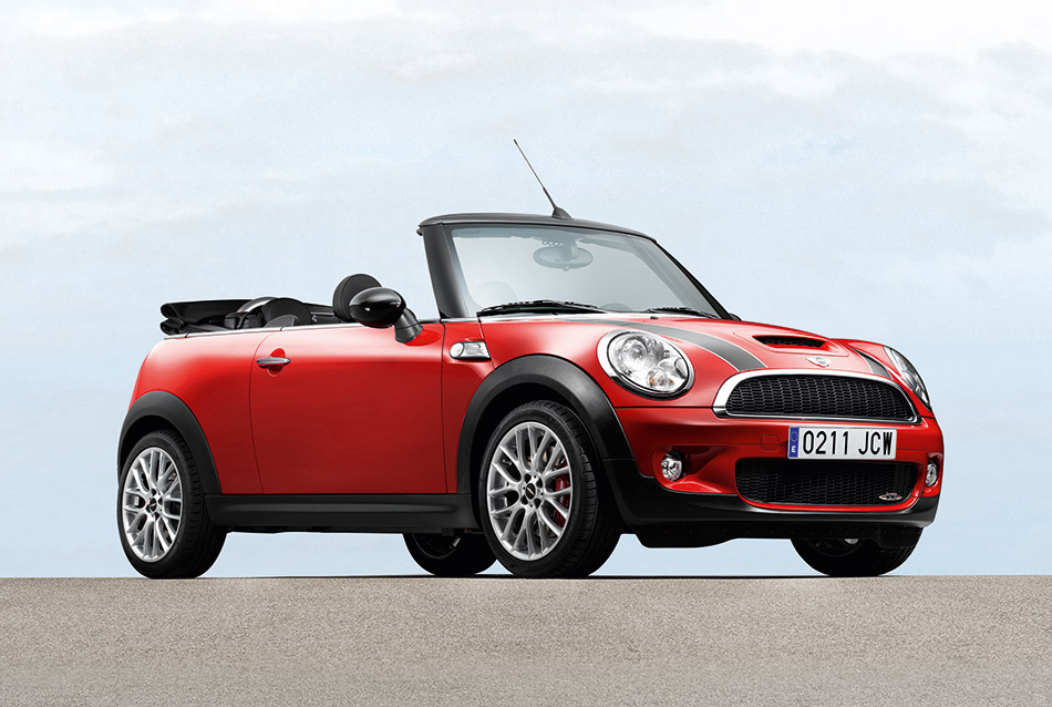2010 MINI John Cooper Works Convertible Front Angle