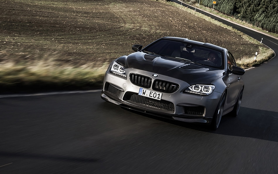 2014 Manhart Performance BMW M6 MH6 700 Front Angle