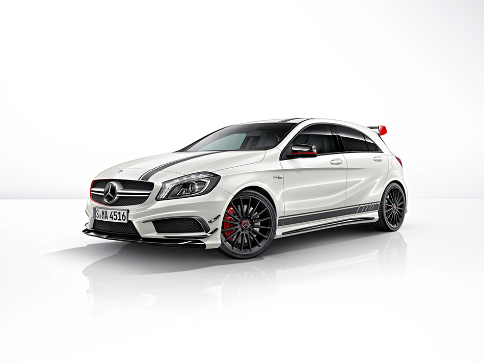2014 Mercedes-Benz A45 AMG Front Angle