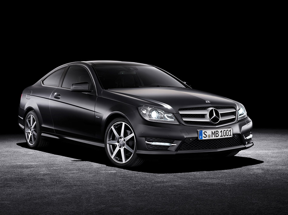 2012 Mercedes-Benz C-Class Coupe Front Angle