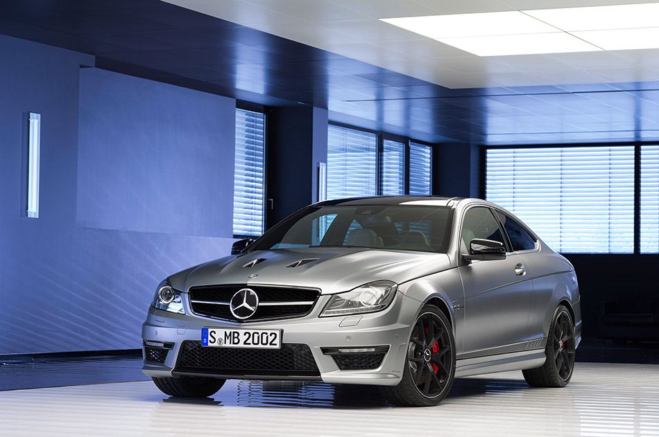 2014 Mercedes-Benz C63 AMG Edition 507 Front Angle