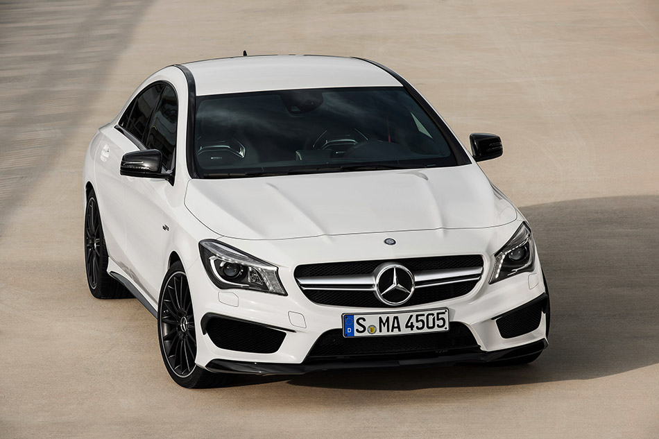 2014 Mercedes-Benz CLA45 AMG Front Angle